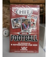 2013 Hit Low Series Factory Sealed Unopened Hobby Football Box - $54.85