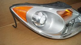 07-12 Hyundai Veracruz Halogen Headlight Head Lights Matching Set LH&RH POLISHED image 5