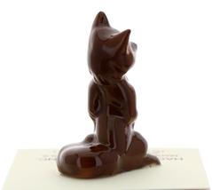 Hagen-Renaker Miniature Ceramic Figurine Fox Baby, Mama & Papa 3 Piece Set image 10