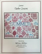 ByGone Stitches Counted Cross Stitch Patterns Quaker Seasons Sampler 4 D... - $14.00