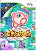 Nintendo Wii -- KEITO NO KIRBY - Kirby's Epic Yarn -- *JAPAN GAME* 56776 - $121.69