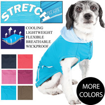 Pet Life 'Pull-Rover' Quick-Dry and 4-Way Stretch Dog Tank Top T-Shirt H... - $19.49+