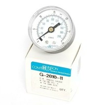 NIB JOHNSON CONTROLS G-2010-11 PRESSURE GAUGE 2INCH 0-30PSIG 0-200KPA