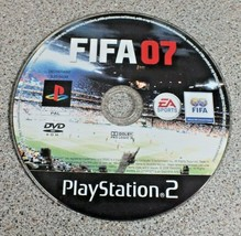 Fifa 07 PS2 Pal Playstation 2 Video Games Disc Only - $2.67