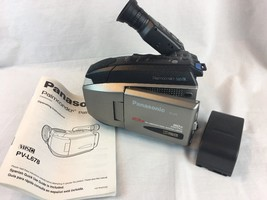 Panasonic Video Camera PV-L680 Palmcorder For Parts AS IS - $9.49