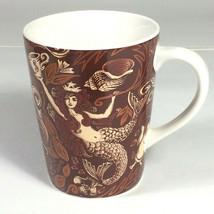 starbucks mug mermaid mug 2007 copper brown - $43.49