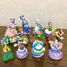 Disney Dreams on parade 12 figures float Movin on figure Diorama parts Miniature - $88.11