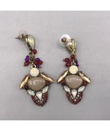 Vintage Post Dangle Pierced Earrings - $12.86