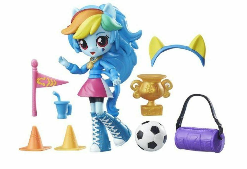 My Little Pony Equestria Girls Mini Rainbow Dash School Pep Rally Set & Doll  5+