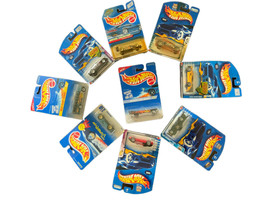 Hot Wheels NINE Vehicles.  Great Deal!  All New In Original Packages. - $19.79