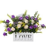 Blancho Bedding Home Decoration Artificial Faux Wedding Silk Flowers Bus... - $20.62