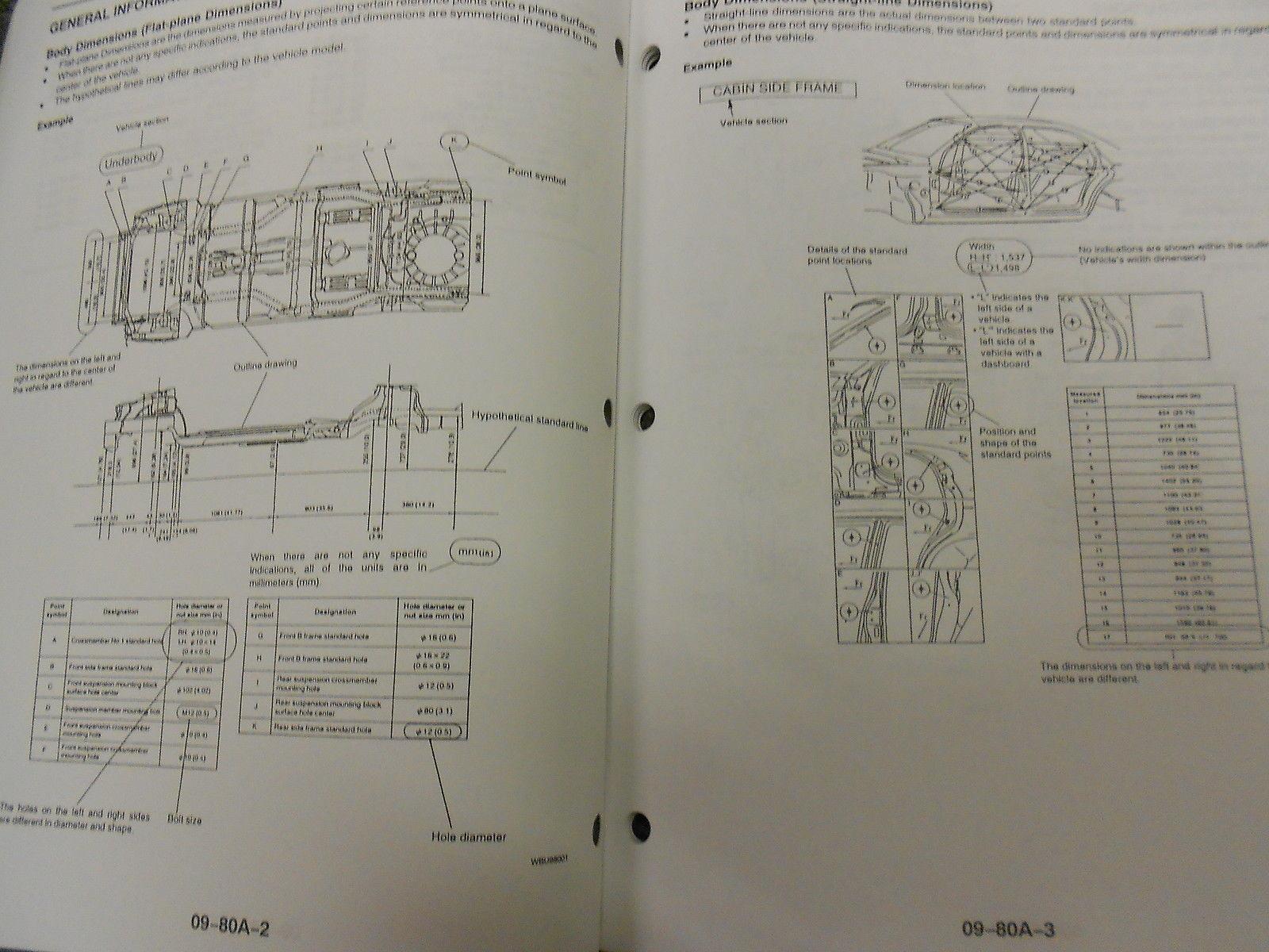 1998 Mazda B-Serie Truck Bodyshop Service Reparatur Shop Manuell OEM Fabrik 98
