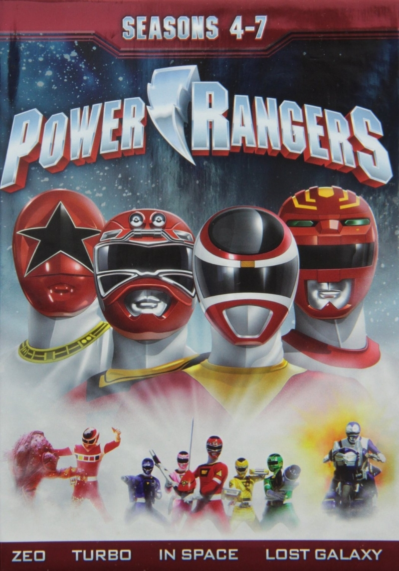 Power rangers seasons four seven 4 7  2013 dvd  21 disc  limited edition