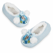 Disney Store Girls Elsa - Frozen -  Slippers, Blue - $21.50