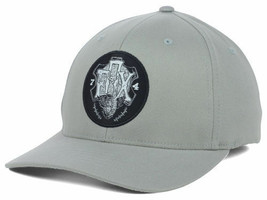 Fox Racing Limitless Logo Gray Stretch Fit Cap Hat  S/M & L/XL - $21.99