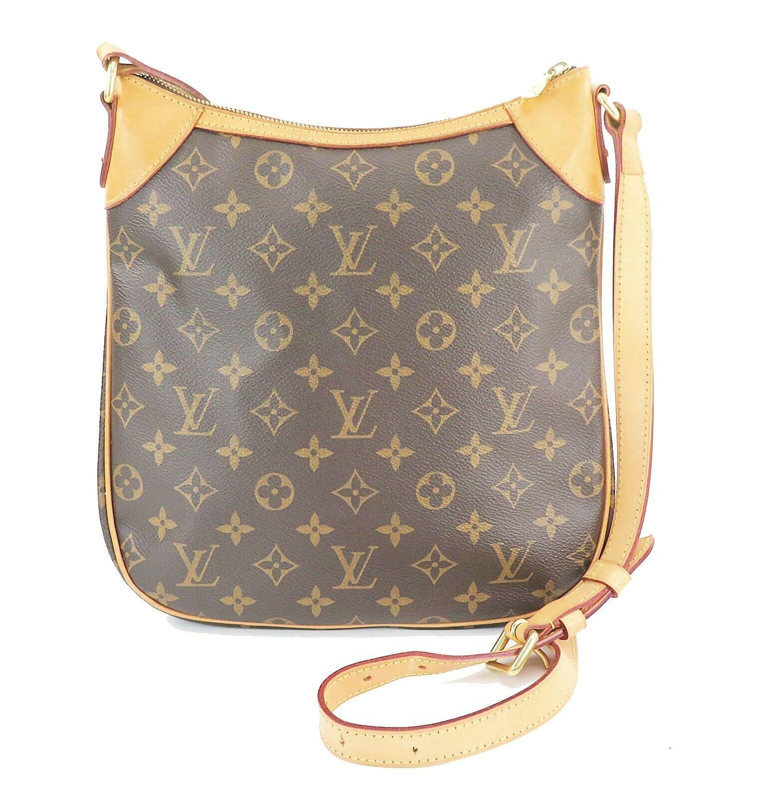 Authentic LOUIS VUITTON Odeon PM Monogram Shoulder Tote Bag Purse #32145 image 4