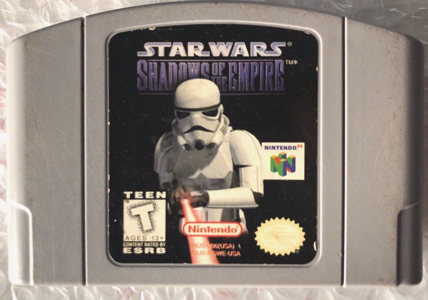 ☆ Star Wars Shadows of the Empire (Nintendo 64 1996) N64 AUTHENTIC Game Cart ☆