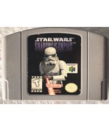 ☆ Star Wars Shadows of the Empire (Nintendo 64 1996) N64 AUTHENTIC Game ... - $11.38