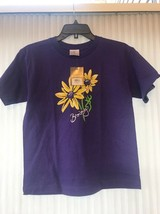 BROWNING The Best There Is Youth Browning Daises S/S Tee Purple Sz L Shi... - $24.97