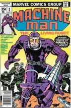 Machine Man Comic Book #1 Marvel Comics 1978 Very FINE/NEAR Mint - $33.75