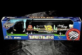 Black Kenny Earnhardt #12 Die-Cast Collector Trailer Rig AA19-NC8007