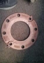 "NEW  VICTAULIC 6Inch Flange 6-641, 3/4"" Bolt Flange Clamp image 1"