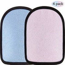 Gejoy 4 Pieces Beach Sand Cleaner Wipe Off Mitt for Children and Adults ... - $13.18