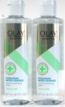 2 Olay Sensitive 8 Oz Hungarian Water Essence Frag Free Calming Cleansing Water - $16.99