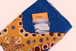 Sand Secured Outdoor Towel Set: One1 Starfish Design & One1 Palm Tree Design, 2  image 8