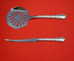 Angelique by International Sterling Silver Tomato Serving Set 2-Piece Cu... - $129.00