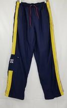 Tommy Hilfiger Medium Vintage Men's Medium Navy Blue Windbreaker Running Pants - $41.79