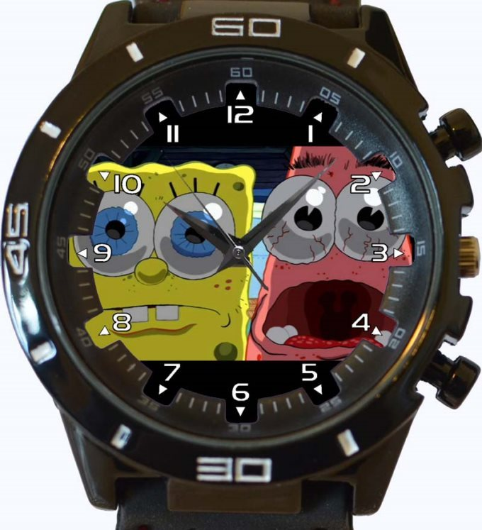 Spongebob New Gt Series Sports Unisex Gift Watch