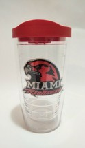 Miami Redhawks 16 oz Tumbler with Red Lid - Red by Tervis Hot Cold Mug - $19.34