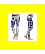 NY GIANTS Leggings HQ - #16 Women Fan Gear - High Quality- NFL Giants Wo... - $34.99