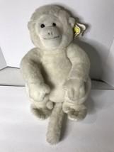 """DAKIN Nature Babies """"Mooch"""" White Monkey Plush 14"""" W/Tag Vintage 1980s??... - $49.49"""