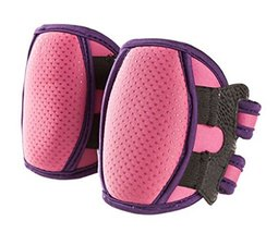1 Pairs Super-Thick Crawling Baby Knee Pads Protector Children Knee Pad Pink