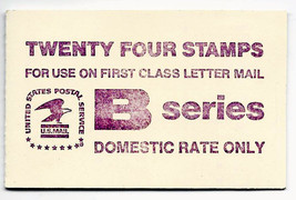 USPS Scott 1819a B Series 18c 4 Books 1980-81 Violet 24 Stamps Mint - $23.76