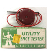 vintage Fire Fly Utility Fence Tester in Original box Sold as not tested... - $18.69