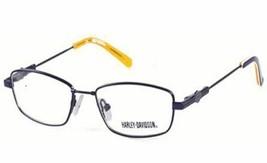 Harley-Davidson Eyeglasses, Blue/Gold - $34.16
