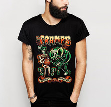 """THE CRAMPS Shirt """"THE CRAMPS RETURN OF THE HUMAN FLY"""" BLACK UNISEX T-SHIRT - £12.01 GBP+"""