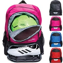 Athletico Youth Soccer Bag - Soccer Backpack & Bags for Basketball, Volleyball &