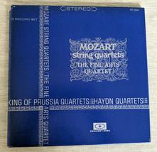 Mozart String Haydn Quartets King of Prussia Fine Arts 3 LP Vinyl Record... - $9.89