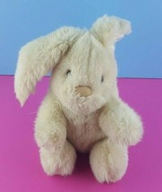 "Applause Natasha Bunny 8"" Stuffed Animal Rabbit Beige Lop Eared 1987 Vtg #A40 - $24.74"