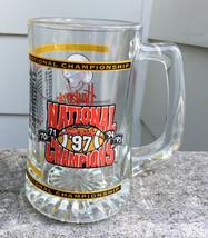 Nebraska Cornhusker Husker Football 1997 National Champion Glass Mug Go ... - $21.00