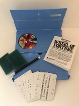 Vintage Wheel of Fortune Travel Game - made by Pressman Toy Corp 1988 - $135,67 MXN