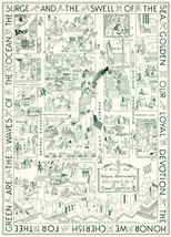 Historical Map Wayne State University Campus Reprint Wall Poster Ready t... - $12.87