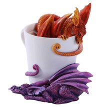 Amy Brown Wake Up Dragons Fantasy Art Figurine Collectible 4.5 inch - £21.08 GBP