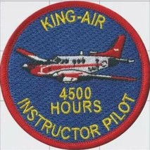 US Navy King-Air 4500 Hour Patch- With Hook and Loop - $15.83