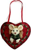 Merry Chrismouse In Gift Box Ornament by Kurt S Adler (Heart) - $17.50