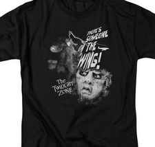 The Twilight Zone t-shirt Someone on a wing retro sci-fi TV graphic tee CBS1002 image 3
